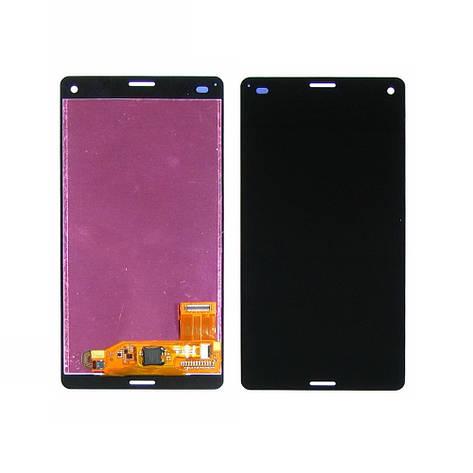 Дисплей для SONY D5803/D5833 Xperia Z3 Compact с чёрным тачскрином, фото 2