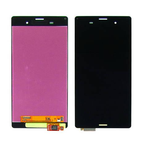 Дисплей для SONY D6603/D6633/D6643/D6653 Xperia Z3 с чёрным тачскрином, фото 2