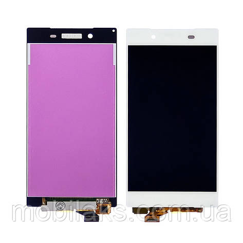 Дисплей для SONY E6603 Xperia Z5/E6633 Xperia Z5/E6653 Xperia Z5 с белым тачскрином, фото 2