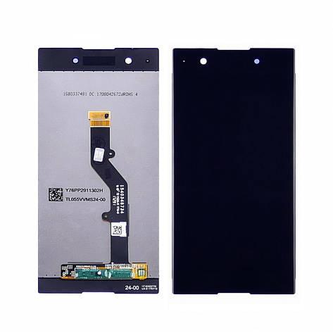 Дисплей для SONY G3412 Xperia XA1 Plus с чёрным тачскрином, фото 2