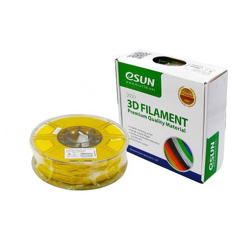 Пластик для 3D печати eSUN PLA, 1.75 мм, 1 кг, жёлтый, фото 2