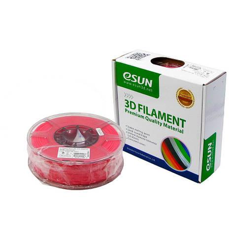 Пластик для 3D печати eSUN PLA, 1.75 мм, 1 кг, розовый, фото 2