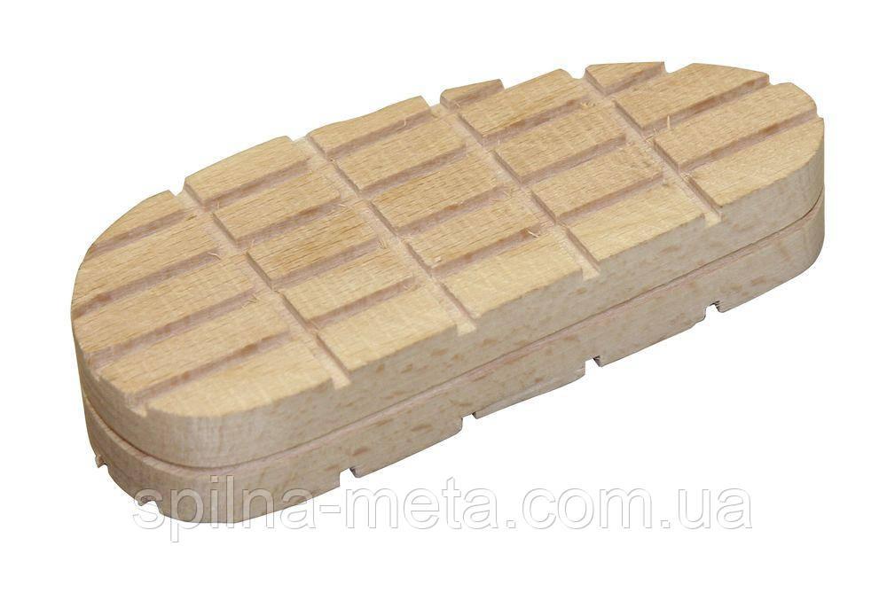 Колодка для копыт деревянная, 112 мм, 10 шт/упак