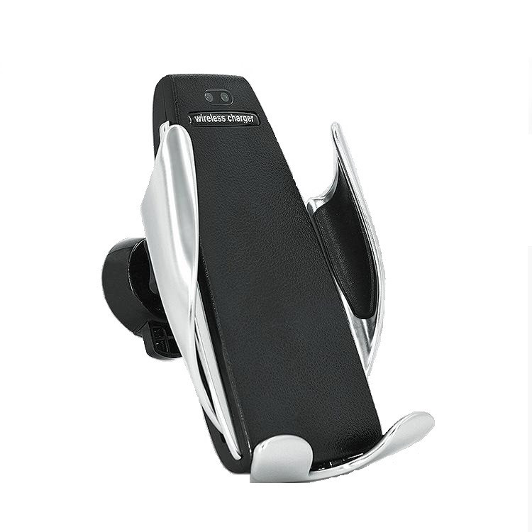 Автомобильный держатель для телефона Smart Sensor S5 c беспроводной зарядкой (100188)