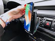 Автомобильный держатель для телефона Smart Sensor S5 c беспроводной зарядкой (100188), фото 2