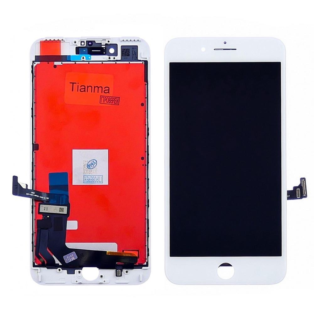Дисплей для APPLE iPhone 7 Plus с белым тачскрином Tianma