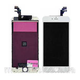 Дисплей для APPLE iPhone 6 Plus с белым тачскрином Tianma, фото 2