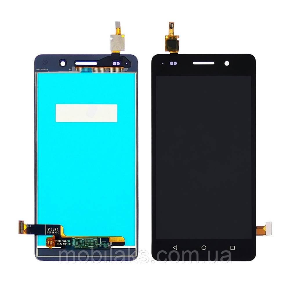 Дисплей для HUAWEI Honor G Play mini/Honor 4С с чёрным тачскрином