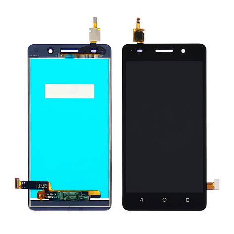 Дисплей для HUAWEI Honor G Play mini/Honor 4С с чёрным тачскрином, фото 2