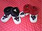 Детские домашние белые сапожки с оленями ИСКУССТВЕННЫЙ МУТОН возраст от 1 до 6 лет, фото 3
