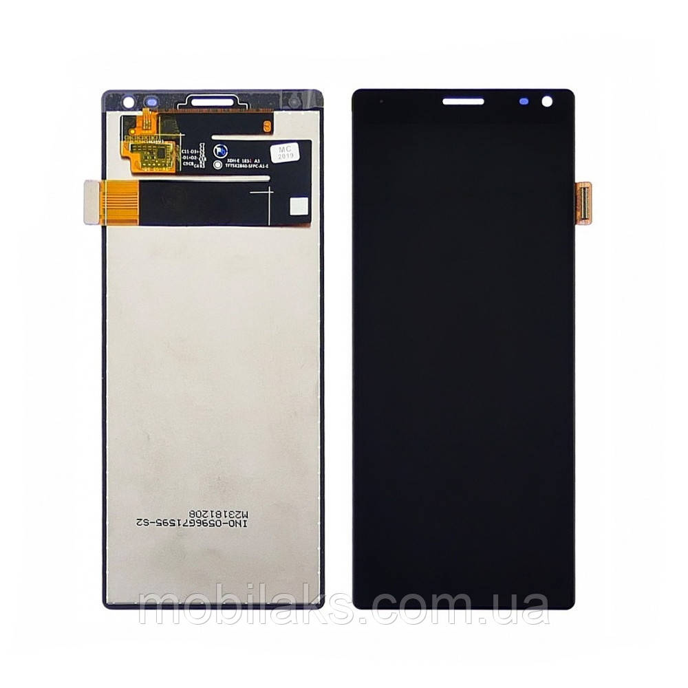 Дисплей для SONY I4113 Xperia 10 с чёрным тачскрином