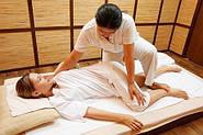 Проведение массажа на полу
