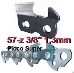 """Цепь пильная  57 звеньев 3/8"""" 1.3 мм (Picco Super)"""