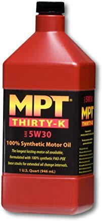 MPT ® 5W-30 Thirty-K 100% Full Synthetic Motor Oil