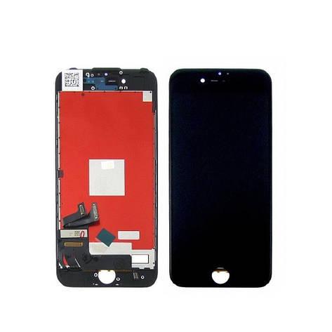 Дисплей для APPLE iPhone 7 с чёрным тачскрином оригинал (TW), фото 2