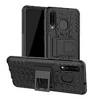 Чехол Armor для Samsung Galaxy A30S / A307 бампер противоударный Black