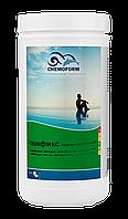 Флокфикс гранулированный Chemoform 1 литр для бассейнов (эффективен в любом спектре рН)