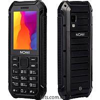Противоударный Телефон Nomi i245 (2-SIM) Black