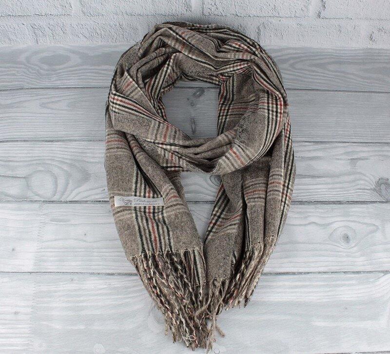Кашемировый шарф, палантин Pashmina 7680-3