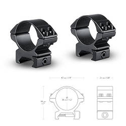 Hawke Кольца Matchmount 30mm/Weaver/Low