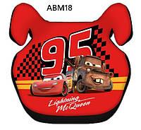 Детское автокресло бустер 15 - 36 кг Lightning McQueen 95 ABM18 автомобильние бустеры