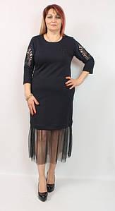 Турецкое вечернее женское платье, размеры 48-54