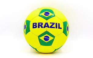 Мяч футбольный №5 Гриппи 5сл. BRAZIL FB-0047-3686, фото 2