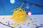 Наповнювач для подарунків жовтий \ Наполнитель подарочный желтый, фото 3
