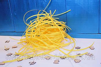 Наповнювач для подарунків жовтий \ Наполнитель подарочный желтый