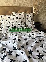 Постельное белье евро размер Звезды ТМ Блакіт