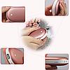 Грелка для рук повербанк розовая Pebble Hand Warmer PowerBank 10800 mAh, фото 3