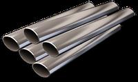 Труба овальная стальная 44х18х1,5 мм.