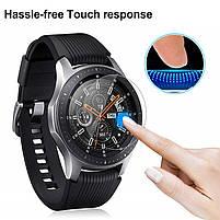 Закаленное защитное стекло для часов Samsung Galaxy Watch 46 мм., фото 5