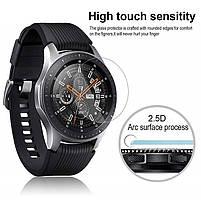 Закаленное защитное стекло для часов Samsung Galaxy Watch 46 мм., фото 4