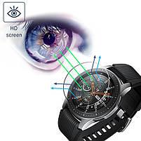 Закаленное защитное стекло для часов Samsung Galaxy Watch 46 мм., фото 7