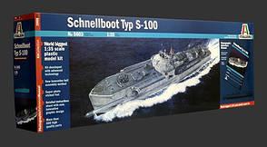 Сборная модель немецкого торпедного катера Шнельбот С-100  в масштабе 1/35. ITALERI 5603