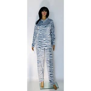 Женская махровая пижама разных цветов с брюками Шиншилла 50-58 р