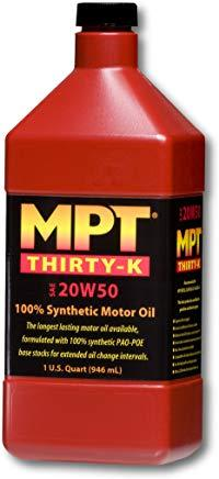MPT ® 20W-50 Thirty-K Full Synthetic Motor Oil