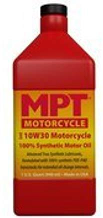 MPT ® 10W-30 Motorcycle 100% Full Synthetic Motor Oil