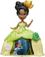 Кукла Принцессы Дисней Тиана в волшебной юбке Маленькое королевство. Hasbro B8962/B8963