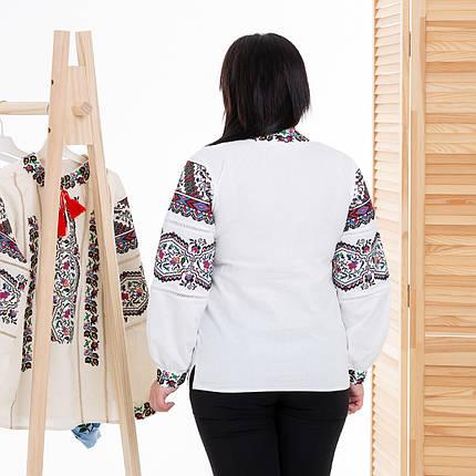 Жіноча біла вишиванка Казка, фото 2