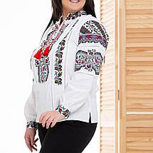 Жіноча біла вишиванка Казка, фото 3