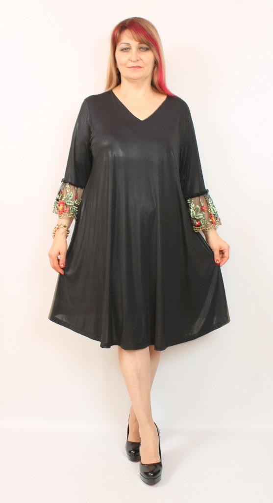 Турецкое вечернее женское платье больших размеров 54-64