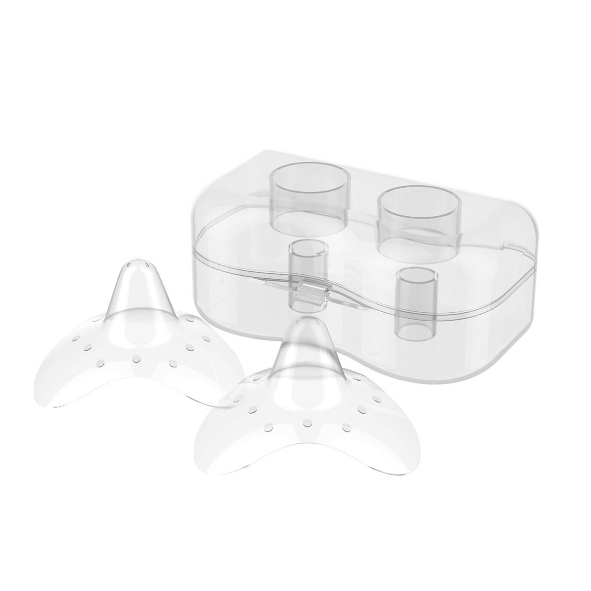 Силиконовые накладки на грудь Natural Nursing  тм Babyono (размер M)