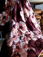 Махровое покрывало полуторное East Comfort - Цветы