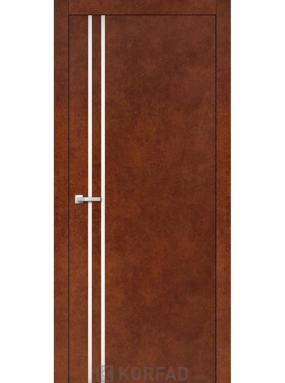 Двери Korfad ALP-01 Сталь кортен
