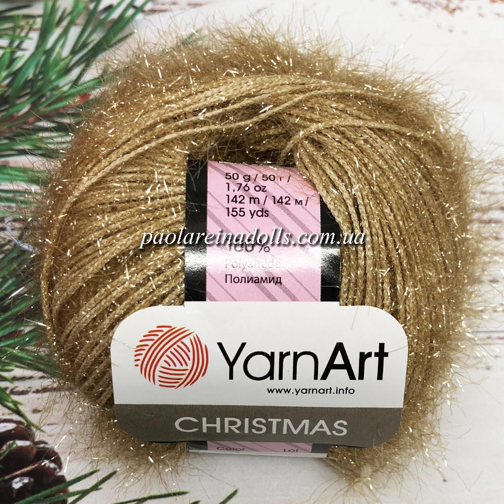 Пряжа ЯрнАрт Кристмас YarnArt Christmas, цвет №05 верблюд