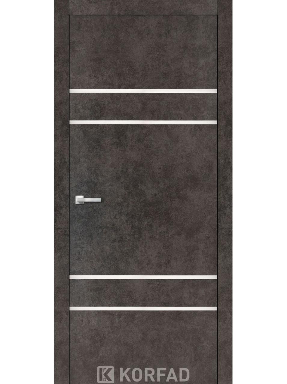 Двери Korfad ALP-04 Лофт бетон