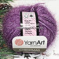 Пряжа ЯрнАрт Кристмас YarnArt Christmas, цвет №26 светлая сирень
