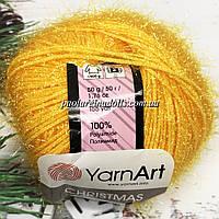 Пряжа ЯрнАрт Кристмас YarnArt Christmas, цвет №32 желток